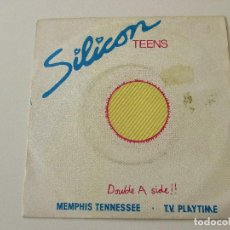 Discos de vinilo: SILICON TEENS MEMPHIS TENNESSEE/ TV PLAYTIME 1980. Lote 113022863