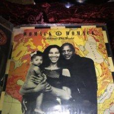 Discos de vinilo: MAXI SINGLE 45 1988 - WOMACK & WOMACK - CELEBRATE THE WORLD. Lote 113022951