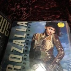 Discos de vinilo: ROZALLA - EVERYBODY'S FREE -. Lote 113023099