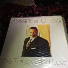 Discos de vinilo: ALEXANDER O'NEAL ••• THIS THING CALLED LOVE - (LP). Lote 113023367
