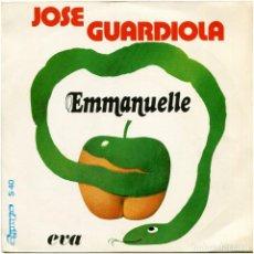 Discos de vinilo: JOSE GUARDIOLA - EMMANUELLE / EVA - SG SPAIN 1974 - OLYMPO S-40. Lote 113024259