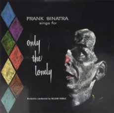 Discos de vinilo: FRANK SINATRA * LP HQ VIRGIN VINYL 140G * SINGS FOR ONLY THE LONELY* LTD PRECINTADO!!. Lote 113024955