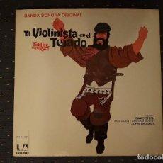 Discos de vinilo: EL VIOLINISTA EN EL TEJADO BANDA SONORA ORIGINAL DOBLE LP. Lote 113027155