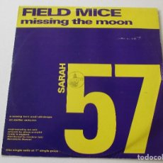 Discos de vinilo: FIELD MICE MISSING THE MOON +2 SARAH RECORDS 57 1991. Lote 113028351