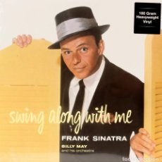 Discos de vinilo: FRANK SINATRA * LP HQ VIRGIN VINYL 180G *SWINNG ALONG WITH ME * LTD PRECINTADO!!. Lote 113034855