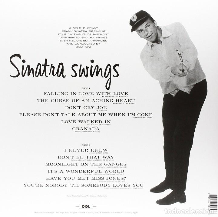 Discos de vinilo: FRANK SINATRA * LP HQ Virgin Vinyl 180g *Swinng Along With Me * LTD Precintado!! - Foto 2 - 113034855