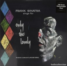 Discos de vinilo: FRANK SINATRA * LP HQ VIRGIN VINYL 180G + CD * SINGS FOR ONLY THE LONELY* LTD PRECINTADO!!. Lote 113034951