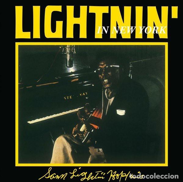 LIGHTNIN' HOPKINS * LP HQ VIRGIN VINYL 140G *LIGHTNIN' IN NEW YORK * LTD PRECINTADO!! (Música - Discos - LP Vinilo - Jazz, Jazz-Rock, Blues y R&B)