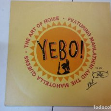 Discos de vinilo: LP. YEBO. YHE ART OF NOISE. Lote 113043347