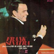 Discos de vinilo: FRANK SINATRA - YOU ARE MY WAY OF LIFE / CYCLES (SINGLE ESPAÑOL, REPRISE 1968). Lote 113057435