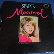 Discos de vinilo: SPAIN'S MARISOL LP U.S.A. EL POROM POMPERO - EL BEREBITO - LOS PELEGRINITOS - SERVA LA BARI -. Lote 113058043