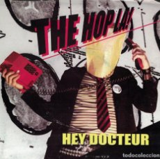Discos de vinilo: THE HOP LA - HEY DOCTEUR / LA BOULETTE (SINGLE PUZKARRA RECORDS 2006, CARATULA DESPLEGABLE EN POSTER. Lote 113061395