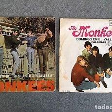 Discos de vinilo: 2 DISCOS SINGLES THE MONKEES:. Lote 113064567