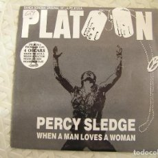 Discos de vinilo: PERCY SLEDGE - PLATOON - ATLANTIC 1987 - SINGLE - P. Lote 113065167