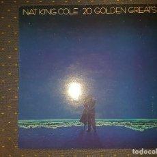 Discos de vinilo: NAT KING COLE. 20 GOLDEN GREATS. Lote 113070403