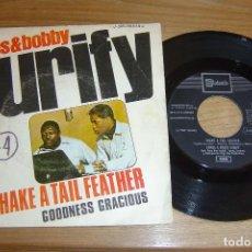 Discos de vinilo: SINGLE VINILO JAMES & BOBBY 1969. PURIFY. Lote 113081087
