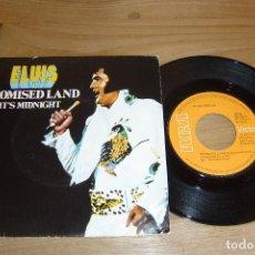 Discos de vinilo: SINGLE VINILO ELVIS 1974. PROMISED LAND. EXCELENTE CONSERVACIÓN. Lote 113081435