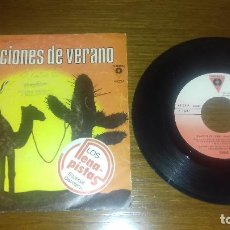 Discos de vinilo: SINGLE - OASIS - VACACIONES DE VERANO - SPANISH. Lote 113087279