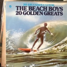 Discos de vinilo: THE BEACH BOYS. 20 GOLDEN GREATS. Lote 113093639