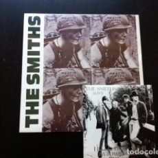 Discos de vinilo: LOTE THE SMITHS MEAT IS MURDER LP + LIVE IN MANCHESTER EP VINILO MORRISSEY . Lote 113097995
