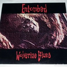 Discos de vinilo: LP ENTOMBED - WOLVERINE BLUES. Lote 113108999