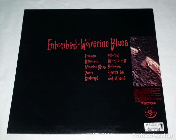 Discos de vinilo: LP ENTOMBED - WOLVERINE BLUES - Foto 2 - 113108999