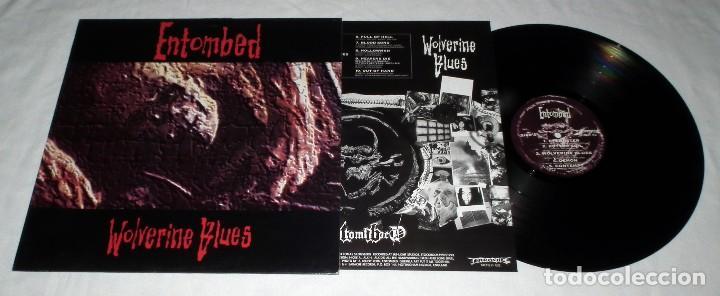 Discos de vinilo: LP ENTOMBED - WOLVERINE BLUES - Foto 3 - 113108999