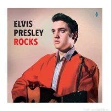 Discos de vinilo: ELVIS PRESLEY ROCKS PRECINTADO (MIGUEL RIOS, JOHNNY HALLYDAY). Lote 113113171