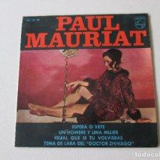 Discos de vinilo: PAUL MAURIAT ESPERA O VETE +3 PHILIPS 1967. Lote 113115263