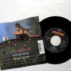 Discos de vinilo: DAVID LYME (JORDI CUBINO) - PLAYBOY - SINGLE MERCURY 1987 PROMO JAPAN (EDICION JAPONESA) BPY. Lote 113117807