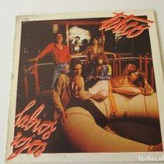 Discos de vinilo: TEBEO LABIOS ROJOS ZAFIRO 1980 CON ENCARTE. Lote 113120507