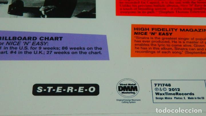 Discos de vinilo: FRANK SINATRA * LP HQ Virgin Vinyl 180g + CD * NICE N EASY * Edición Limitada *Precintado!! - Foto 7 - 113113595