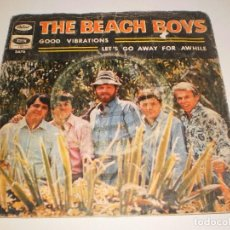 Discos de vinilo: SINGLE THE BEACH BOYS. GOOD VIBRATIONS. LET'S GO AWAY FOR AWHILE CAPITOL 1966 SPAIN (PROBADO Y BIEN). Lote 113123751