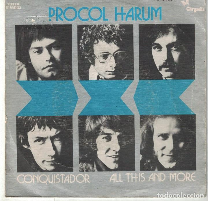 Procol harum - conquistador / all this and more - Vendido en Venta ...