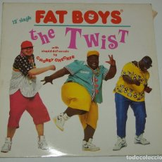 Discos de vinilo: FAT BOYS: THE TWIST, MAXISINGLE POLYDOR 887 638-1, SPAIN, 1988. Lote 113137871
