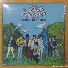 Discos de vinilo: PARAÍSO - CERCA DEL EDÉN - LP + 3CD + LIBRO. Lote 132728309