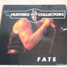 Discos de vinilo: HUNTERS COLLECTORS ( FATE ) 1988 - SWEDEN LP33 SONET, I.R.S. RECORDS. Lote 113146759