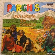 Discos de vinilo: PARCHIS – UNA CASITA EN CANADÁ / ALÍ BABÁ - DB BELTER 1980 - SINGLE - P. Lote 113147083