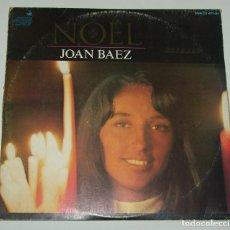 Discos de vinilo: NAVIDAD CON JOAN BAEZ 1966 NOËL HISPAVOX. Lote 113149895
