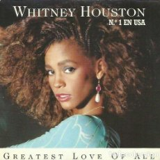 Discos de vinilo: WHITNEY HOUSTON. SINGLE. SELLO ARISTA. EDITADO EN ESPAÑA. AÑO 1986. Lote 113153679