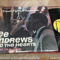 Discos de vinilo: LP ORIG USA 1965 SUPERSOUL LEE ANDREWS AND THE HEARTS RECORDED LIVE ON STAGE VG+/VG+++. Lote 113156099