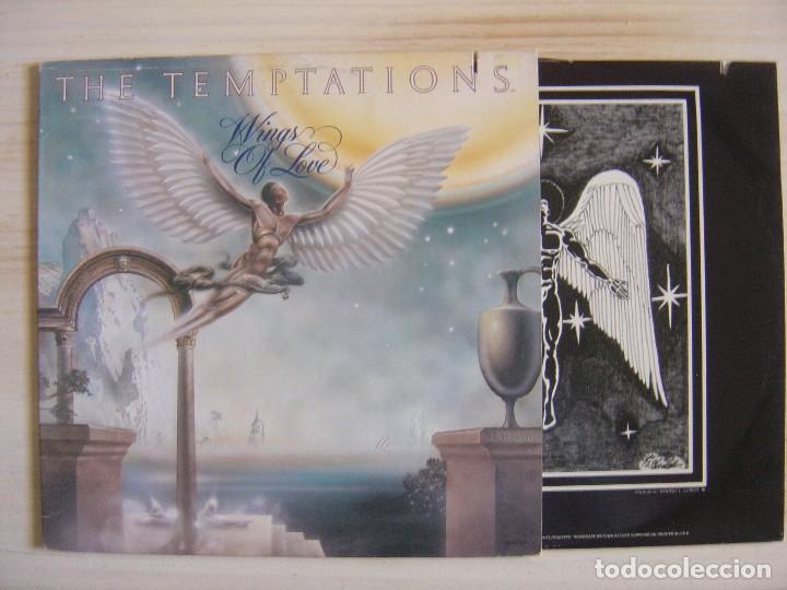 THE TEMPTATIONS - WINGS OS LOVE - LP USA 1976 - GORDY (Música - Discos - LP Vinilo - Funk, Soul y Black Music)