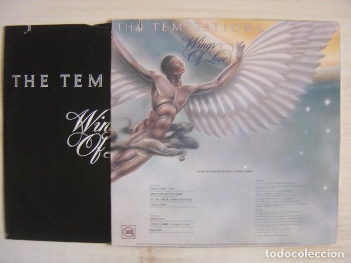 Discos de vinilo: THE TEMPTATIONS - Wings os love - LP USA 1976 - GORDY - Foto 2 - 113166115