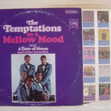 Discos de vinilo: THE TEMPTATIONS - IN A MELLOW MOOD - LP USA 1967 - GORDY. Lote 113167095