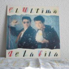 Disques de vinyle: EL ULTIMO DE LA FILA-LP NUEVO PEQUEÑO CATALOGO DE SERES Y ESTARES-CON ENCARTE Y LETRAS. Lote 113171435