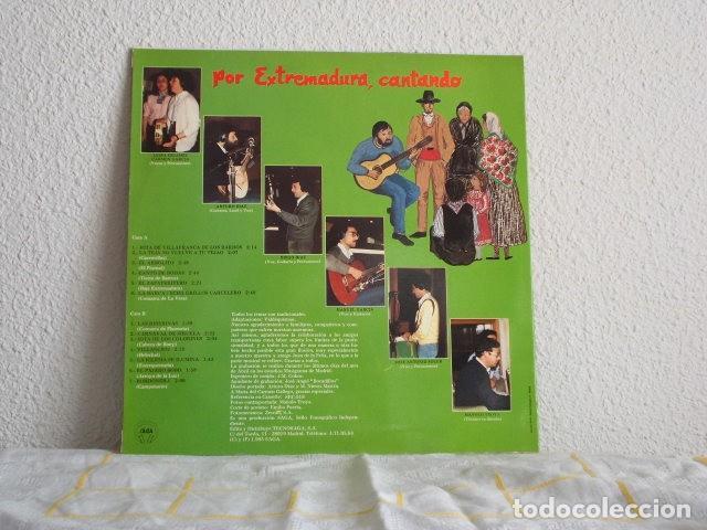 Discos de vinilo: VALDEQUEMAO-LP POR EXTREMADURA, CANTANDO - Foto 2 - 113172167