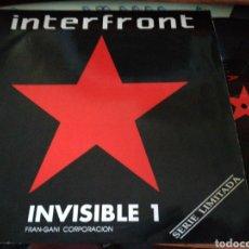 Discos de vinilo: INTERFRONT INVISIBLE 1 MAXI/LP 1990. Lote 113182011