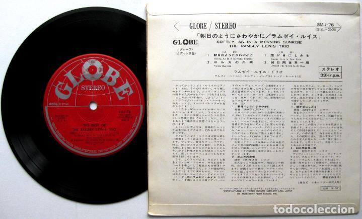 Discos de vinilo: The Ramsey Lewis Trio - Softly, As In A Morning Sunrise - EP Globe 1967 Japan (Edición Japonesa) BPY - Foto 2 - 113192991