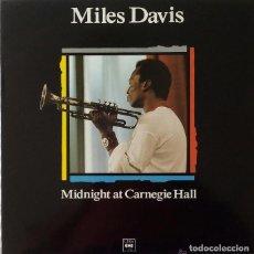 Discos de vinilo: MILES DAVIS * LP SPAIN 1989 PROMOCIONAL * MIDNIGHT AT CARNEGIE HALL * SIN PINCHAR. Lote 113200391