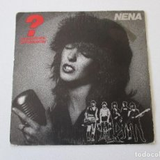 Discos de vinilo: NENA FRAGEZEICHEN INTERROGACIÓN CBS 1983. Lote 113210439